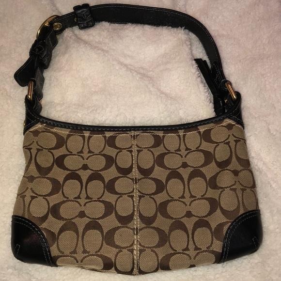 Coach Handbags - Coach Signature Shoulder Bag